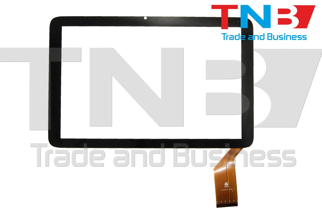 Сенсор 246x157mm 50pin TPC 0618 Ver3.0 Черный