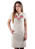 Платье Розы ТМ Берегиня (Платья с вышивкой в украинском стиле)