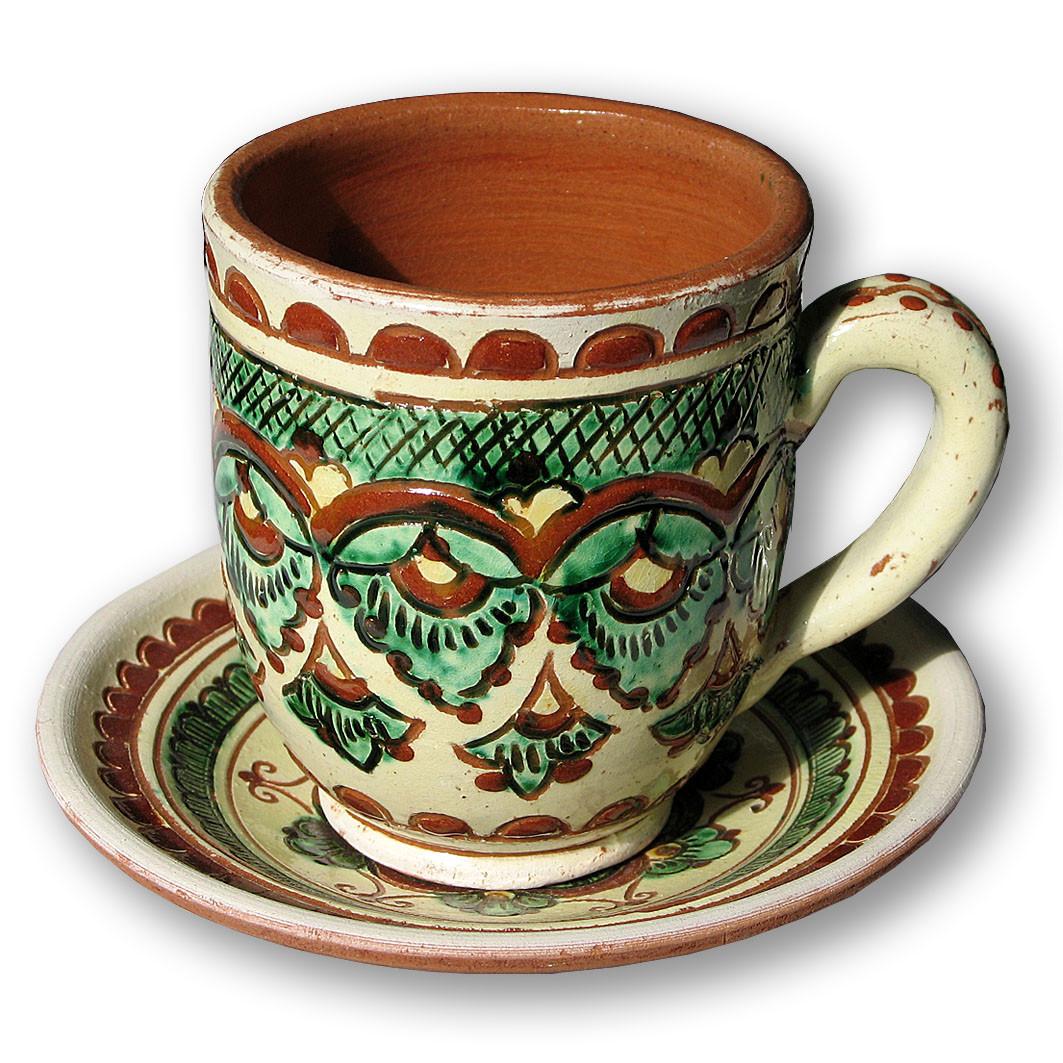 Кружка керамическая - Украинские сувениры в Тернополе