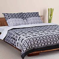 Семейный комплект постельного белья Теп Грация 965, Серый
