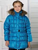 Куртка на пуху, Baby Line  р.140 цвет бирюза