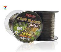 Леска карповая Bratfishing Carp Yamato camou 0,25mm 1000m
