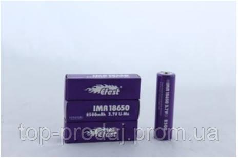 Батарейка BATTERY 18650 Pointed Efest,   Аккумуляторная литий-ионная батарея,