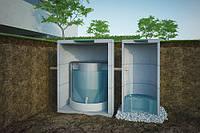 Установка биологической очистки бытовых сточных вод EcoTron 10LS