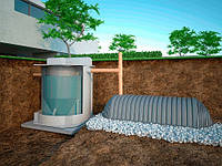 Установка биологической очистки бытовых сточных вод EcoTron 10HS
