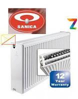 Радиаторы стальные SANICA 500/11/400