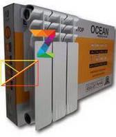 Биметаллические радиаторы Ocean 500\80