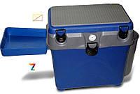 Ящик для зимней рыбалки A-elita 'A-box' с карманом столиком и термометром