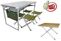 Комплекты мебели для пикника, столы раскладные