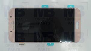 Дисплей с сенсором Samsung A720 Galaxy A7 Pink/Розовый, GH97-19723D , фото 2