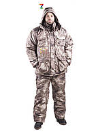 Костюм зимний (-30) АТАКС СЕРЫЙ для охоты и рыбалки от лучшего производителя г. Харькова