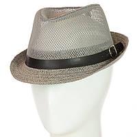 Шляпа Челентанка 12017-12 серый