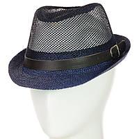 Шляпа Челентанка 12017-12 синий