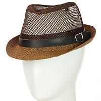 Шляпа Челентанка 12017-12 коричневый