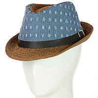 Шляпа Челентанка 12017-14 коричневый
