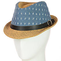 Шляпа Челентанка 12017-14 светло-коричневый