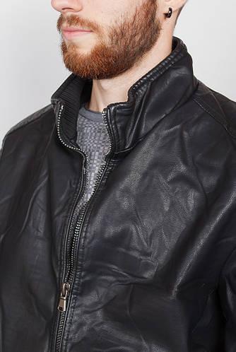 Куртка из экокожи 670K001 (Черный)