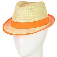 Шляпа Челентанка 12017-2 оранжевый