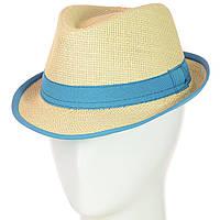Шляпа Челентанка 12017-2 бирюзовый
