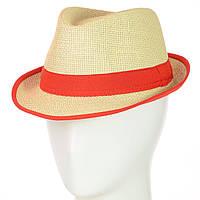 Шляпа Челентанка 12017-2 красный
