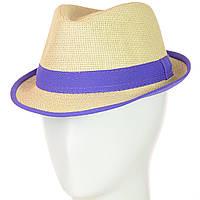 Шляпа Челентанка 12017-2 фиолетовый