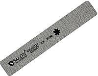 Пилки для ногтей SALON PROFESSIONAL (80/80) квадрат, широкие, серые