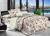 Двуспальное постельное белье полиСАТИН 3D (поликоттон) 85787