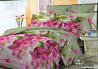 Евро постельное белье полиСАТИН 3D (поликоттон) 8511850