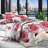 Полуторное постельное белье полиСАТИН 3D (поликоттон) 851980