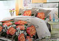 Семейное постельное белье полиСАТИН 3D (поликоттон) 851000