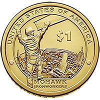 США 1 доллар 2015, Сакагавея: Мохоки-рабочий