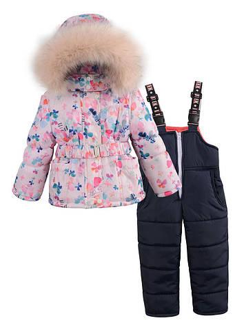 f3a145a1143 Детский зимний комбинезон на девочку