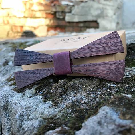 Галстук-бабочка I&M Craft из дерева (011206), фото 2