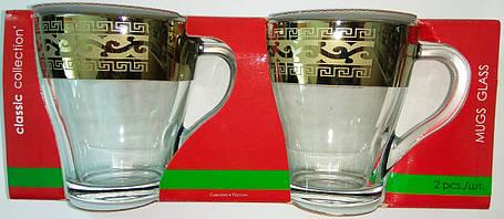 Набор чашек Грация-Версаче Гусь-Хрустальный GE08-1649, фото 2