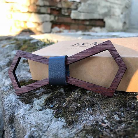 Галстук-бабочка I&M Craft из дерева (060007), фото 2