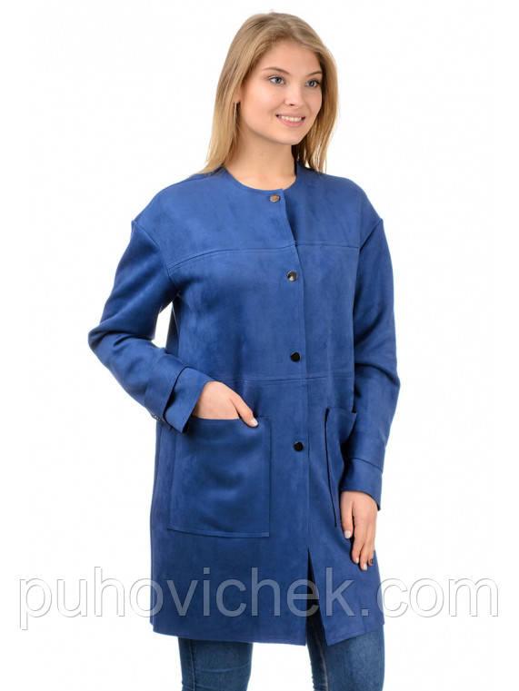 Удлиненная женская кофта молодежная