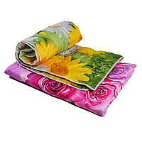Одеяло стеганное, синтепоновое, полуторное, 140*205 см
