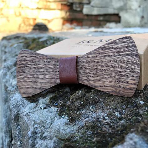 Галстук-бабочка I&M Craft из дерева (422200), фото 2