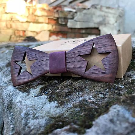 Галстук-бабочка I&M Craft из дерева (440200), фото 2