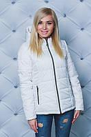 Куртка женская демисезонная белая, фото 1
