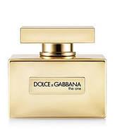 Женская туалетная вода Dolce&Gabbana The One Gold (Дольче Габбана Зе Ван Голд), фото 1