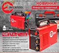 Инверторный сварочный аппарат Intertool DT-4125