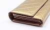Женский кошелек лаковый золотой, фото 2