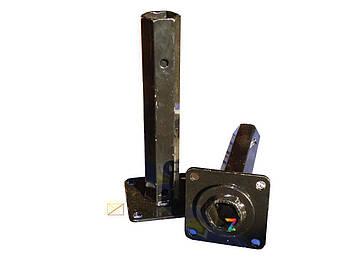 Полуоси (ступицы) шестигранные Ø 32 мм (240 мм) / мотоблок / мотоблока /мотоблоку