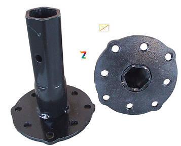 Полуоси (ступицы) универсальные Ø 32 мм (180 мм) / мотоблок / мотоблока /мотоблоку