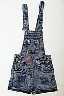 Комбинезон джинсовый шорты, размер 5-6