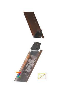 Ножи плоскореза 270 мм / мотоблок / мотоблока /мотоблоку