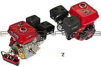 Двигатель бензиновый 168F (6,5Hp) DAOTONG под шпонку (электростартер)