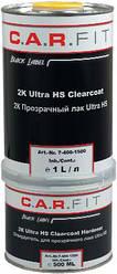 C. A. R FIT Лак прозорий Ultra HS, 1л + затверджувач 0,5 л