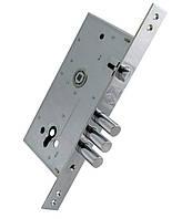 Замки для дверейврезной KALE 252 R з накладкой бексет 60 mm 85мм Никель